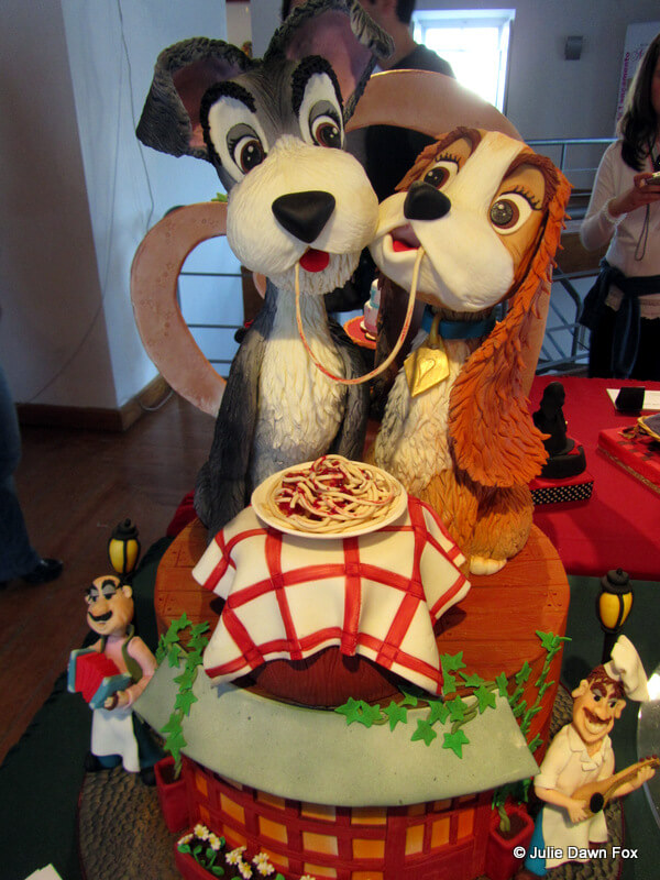 Lady and the Tramp cake