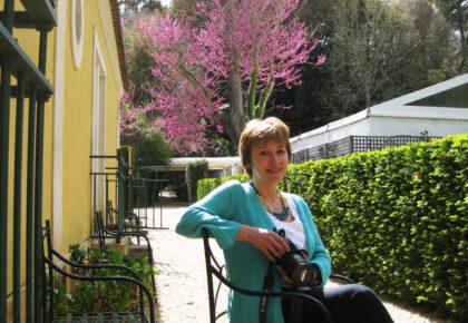 Sheila Sim at Quinta das Lagrimas, Coimbra