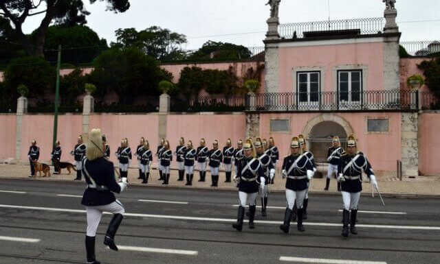 Changing of the Guard ceremony, Lisbon