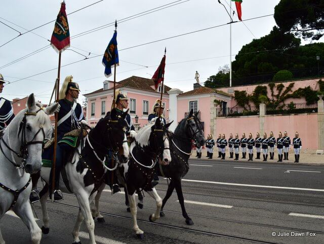 changing of the guard, Lisbon