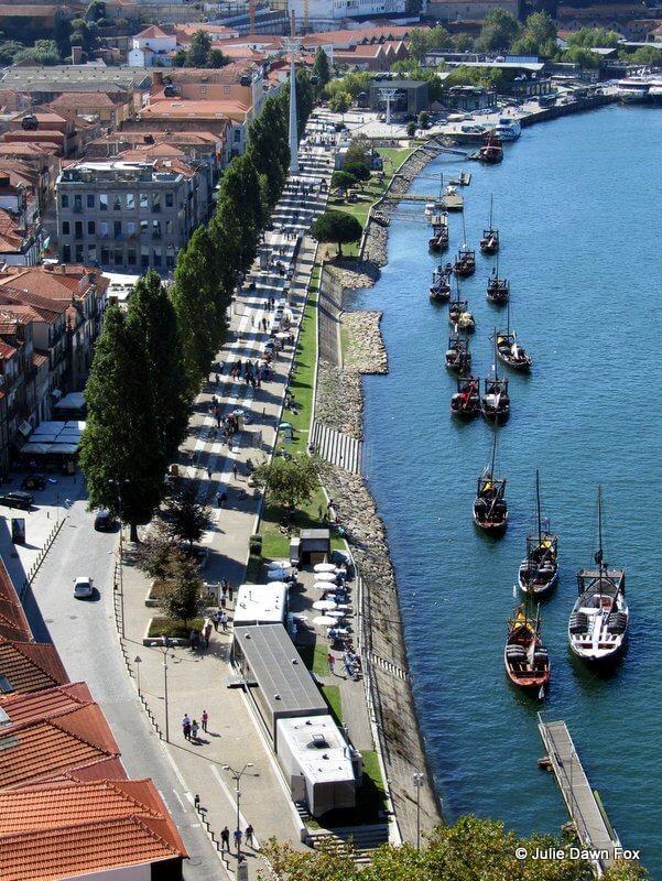 View of Vila Nova de Gaia, Porto