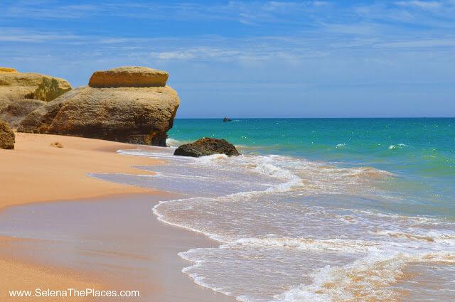 Praia de Galé, Algarve