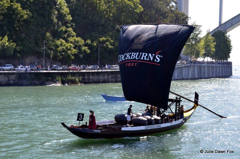 Cockburn's rabelo boat