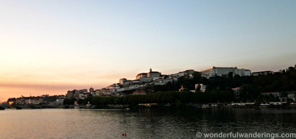 Coimbra by nightfall