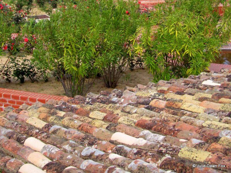 Thigh tiles, Silves castle, Algarve