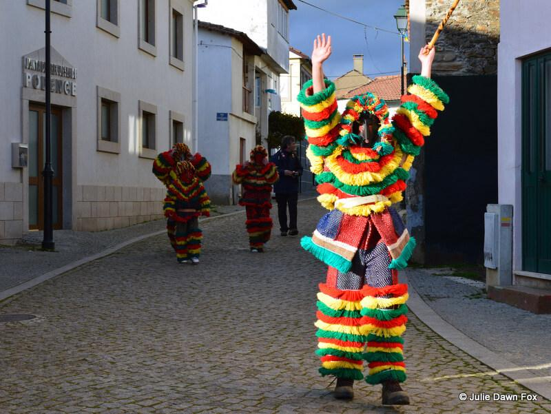 Caretos in the streets of Podence