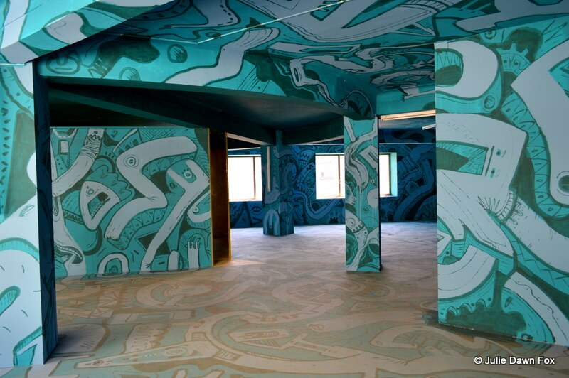 Floor to ceiling, Street Art AXA, Porto