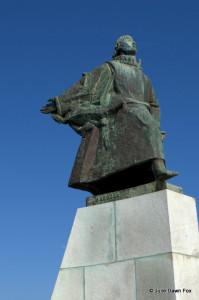 Statue of João Álvares Fagundes, Viana do Castelo