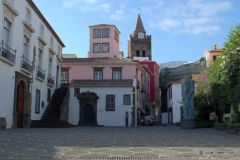 Traditional buildings, Funchal, Madeira