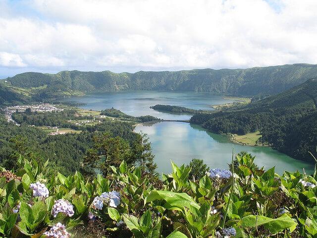 Lago das Sete Cidades, São Miguel, Azores