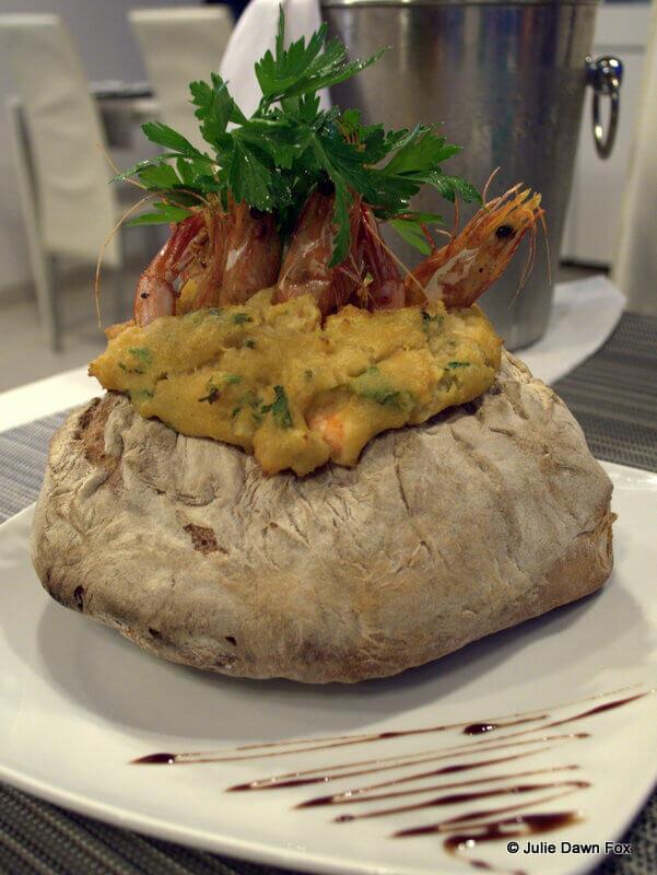 Prawn and bread stew, Portofino restaurant, Sesimbra