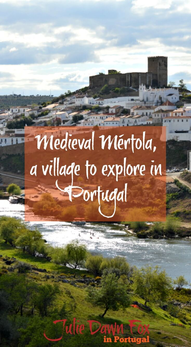 Medieval Mértola and the Guadiana River