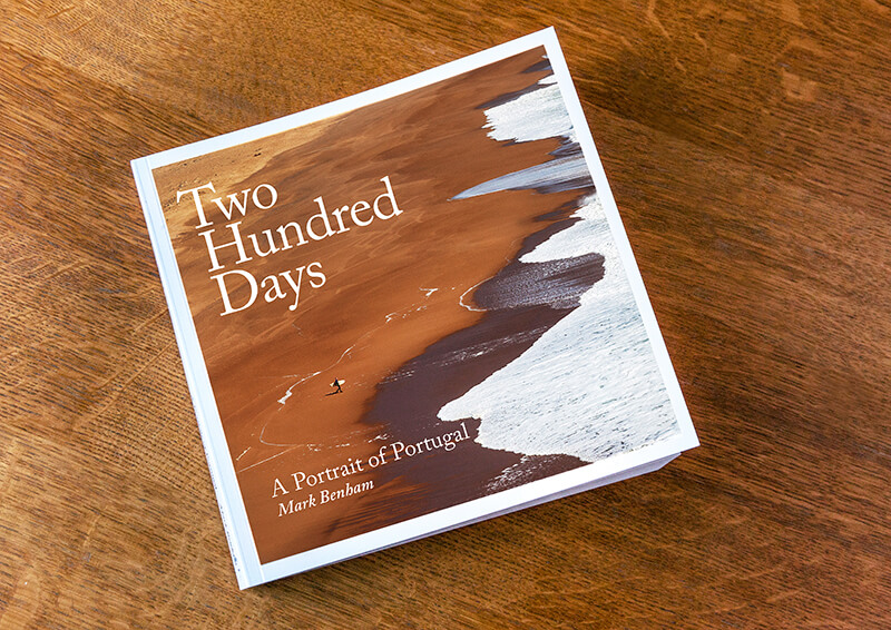 Cover of Two Hundred Days by Mark Benham