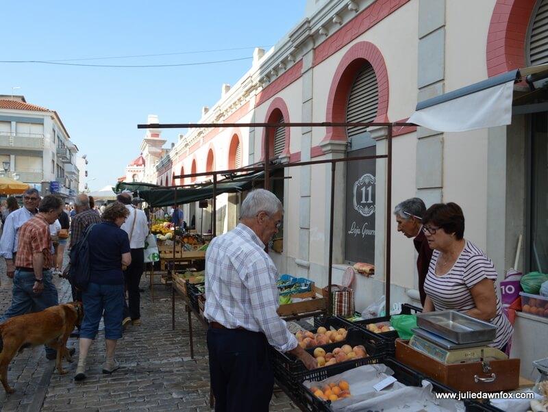 Saturday street market, Loulé, Algarve, Portugal. Photography by Julie Dawn Fox