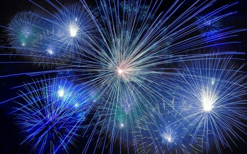 Fireworks, New Years Eve