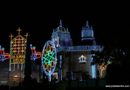 Barcelos lit up for the Festa das Cruzes