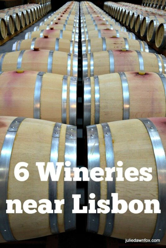 6 Great wineries near Lisbon to visit for tours and tastings.