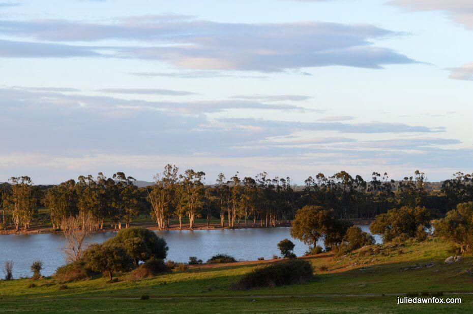 Lake near Arraiolos