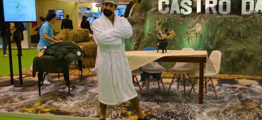 Spa treatments and traditional games in Castro Daire at BTL travel fair