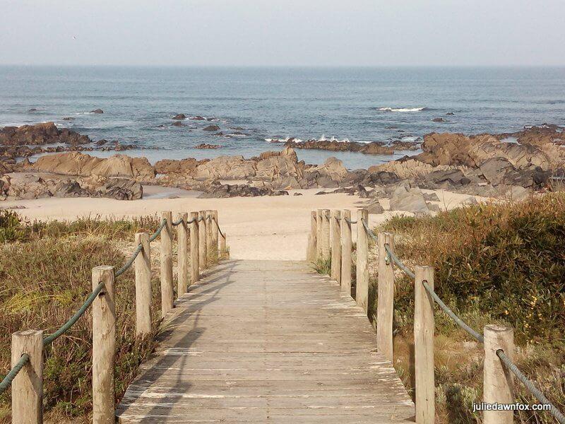 Morning at Afife beach, Green coast Portugal