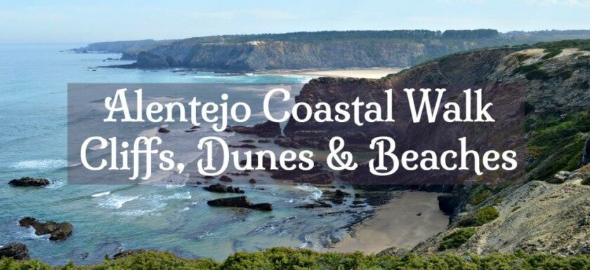 Alentejo Coastal Walk. Fisherman's Trail Portugal. Rota Vicentina Portugal
