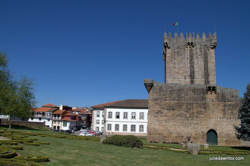 Chaves Castle and historical town centre