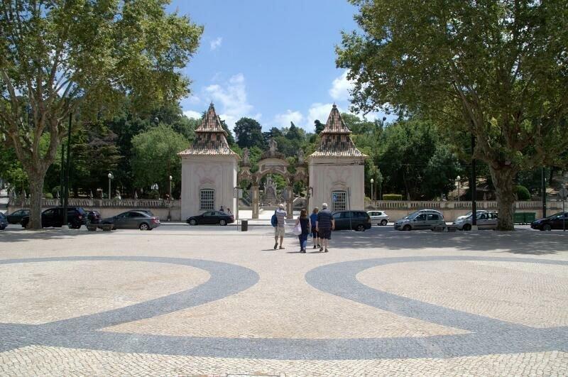 Praça da República and Jardim da Sereia, Coimbra