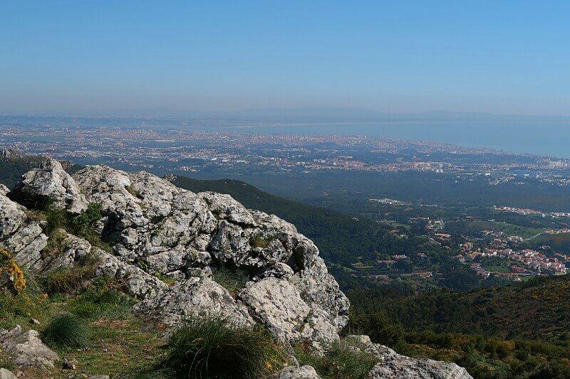 Views of Sintra-Cascais Natural Park from Peninha