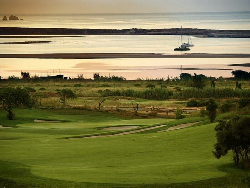 Palmares. Algarve golf course