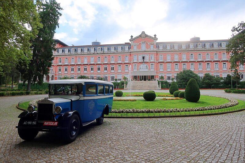 Vidago Palace Hotel front view