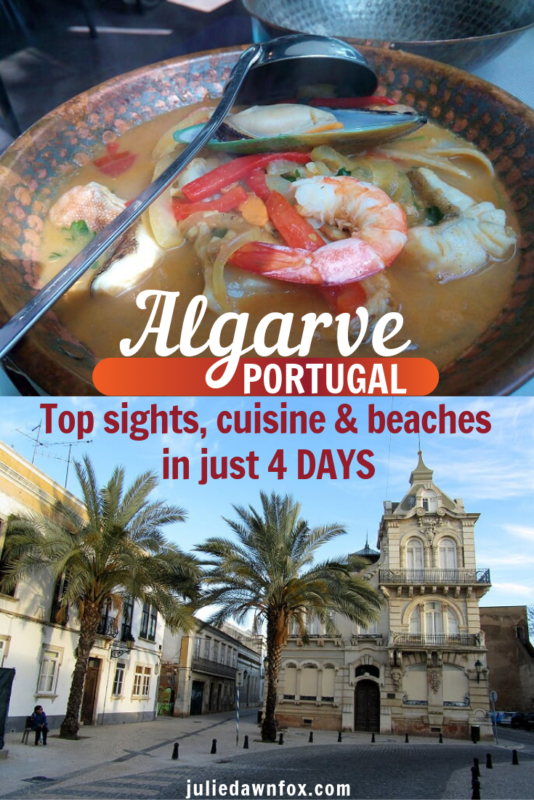 4 Days In The Algarve Itinerary (from Lisbon) _ Julie Dawn Fox in Portugal