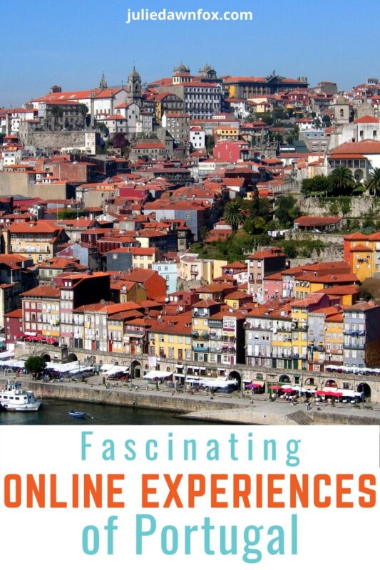 View of city of Porto, Portugal.