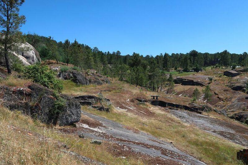 Eiras, aka threshing areas, Almargem, Portugal