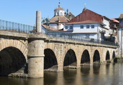 Bridge over river.