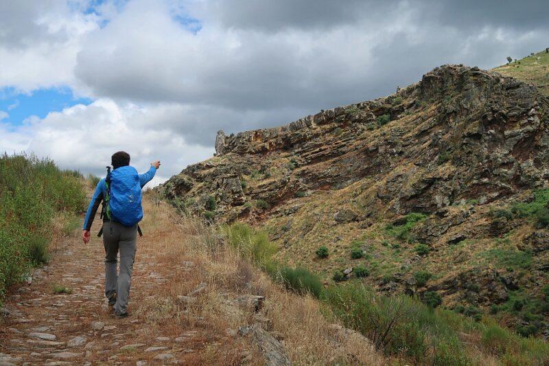 Calçada de Alpajares hiking trail, Douro International Natural Park, Portugal
