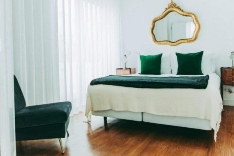 Bedroom at 54 Sao Paulo Exclusive Apartments, Lisbon