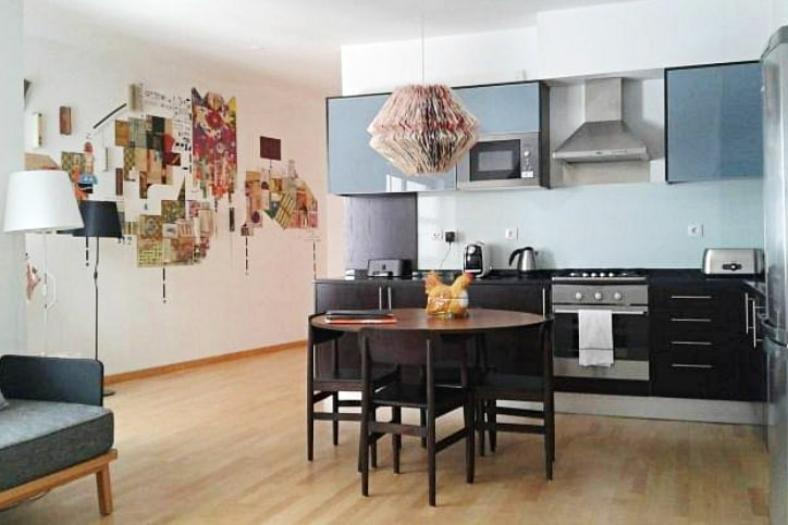 Kitchen area in Lisbonaire apartments, Lisbon